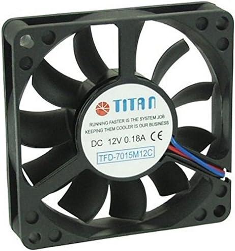 Titan TFD-7015M12C - Ventilador de PC (Ventilador, Carcasa del ...