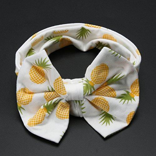 Diamondo 2pcs Baby Infant Swaddle Wrap Blanket Pineapple Print Sleeping Bag Headband by Diamondo (Image #5)
