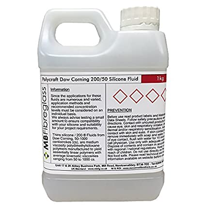 200 Dow Corning Polycraft/50 silicona líquido/fino - 1 kg