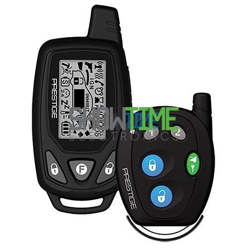 Audiovox Prestige APS922E 2-Way Remote Start Keyless Entry System+LCD Remote (Audiovox Remote Car Starter And Keyless Entry System)