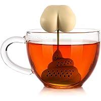 SAMTITY Colador de té en Forma de Caca