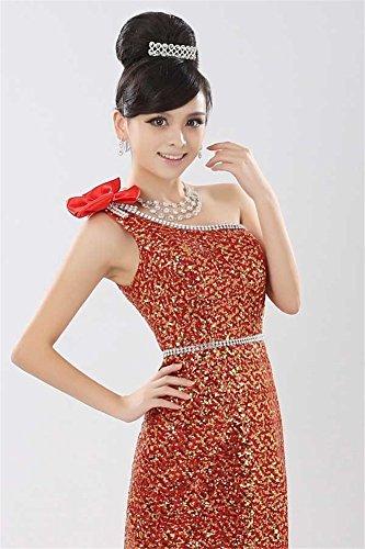 Rosso Vestido Para Mujer Ajustado Drasawee dInxwqUSYI