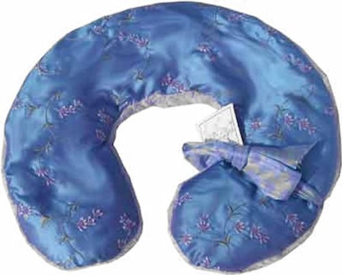 Amazon.com: Sonoma Lavanda bordado lavanda cuello almohada ...