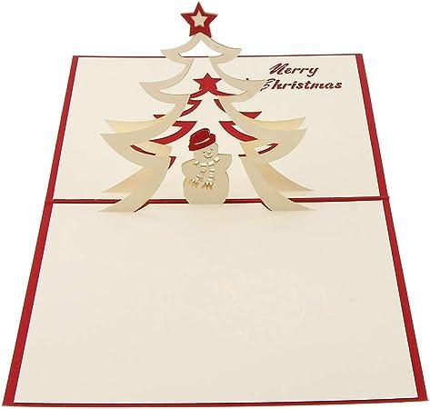 Biglietti Di Natale Modelli.Artistorea Pop Up Fogli Carte Augurali 3d Modelli Multipli Cartoline Di Natale Carte Compleanno Auguri Per Il Tuo Amore Biglietti Di Auguri Creativi Come Mostrato B Amazon It Casa E Cucina