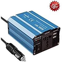 Quantico 300W DC to AC CAR Power Heavy Inverter