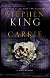 Book cover from Carrie by Stephen King