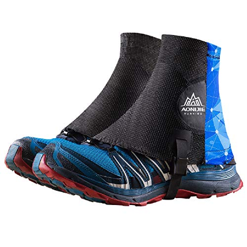 TRIWONDER Reflective Trail Gaiters Running Gaiters Low Ankle Gators with UV Protection for Men Women