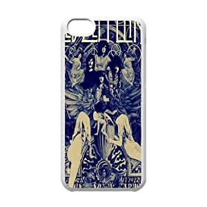 Led Zeppelin Band Poster Hard Plastic phone Case Cover For Iphone 5c FAN219716