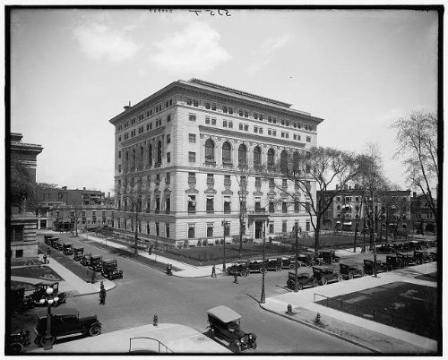 Photo: DAC,Plaza Hotel,automobiles,athletic clubs,organizations,Detroit,Michigan,1910