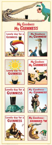 guinness-collage-vintage-ad-art-poster-print-12x36