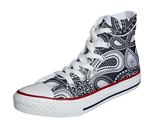 Elegant Personalizados Star All Artesano Zapatos Customized Paisley Converse producto Sz0BqBw