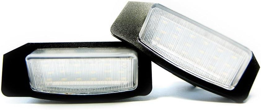 2 X Led Kennzeichenbeleuchtung Kennzeichen Leuchte Xenon 6000k Auto