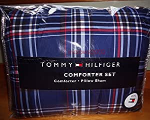 Amazon Com Tommy Hilfiger Twin Twin Xl Comforter Set