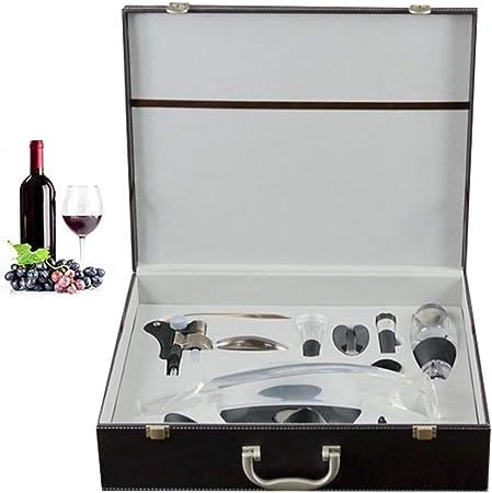 Compra Juan bohorquez Abrebotellas Accesorios para Vino Set Regalo De Empresa Bar Creativo Artículos para El Hogar Manual De Gama Alta De Acero Inoxidable Abridor De Botellas De Vino Tinto en Amazon.es
