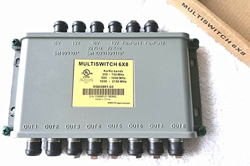 Directv 6x8 Multi-Switch Ka Ku Bands MS6X8R1-03 ()