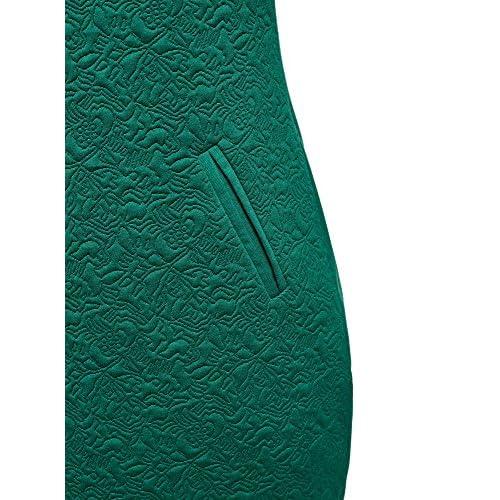 oodji Collection Damen Jerseykleid mit 3/4 Arm