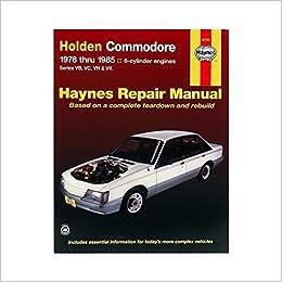 Holden Commodore automotive repair manual (Haynes automotive