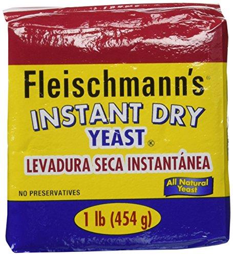 Fleischmann's Instant Yeast - 2 pack/each 16 oz. bags
