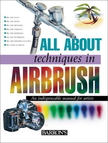 All about Techniques in Airbrush (All about Techniques) (Hardback) - Common