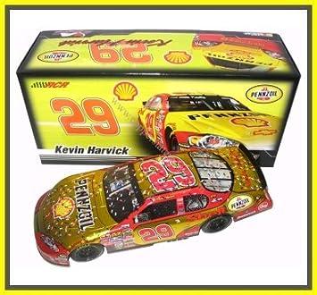 nascar kevin harvick 29 shell daytona 500 raced win liquid color 124 car