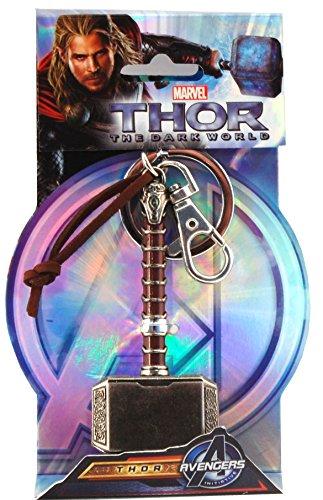 Marvel Thor Hammer 2 Pewter Key (Marvel Accessories)