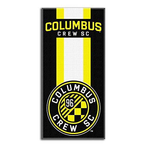 fan products of Officially Licensed MLS Columbus Crew Zone Read Beach Towel, 30