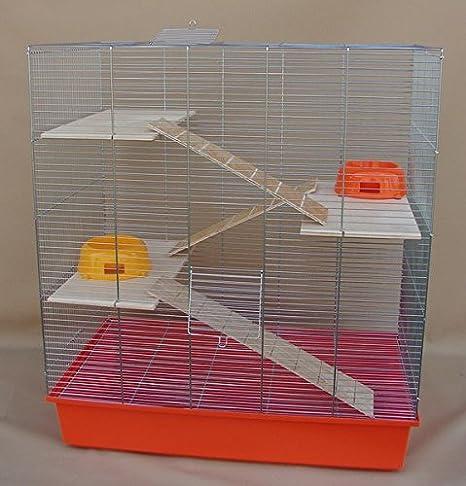 chinc Hilla, Degu Ratas de jaula 70 x 40 x 80 cm Juego completo 3 ...