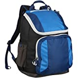 "Embark Jartop Blue/Black 17.5"" Recycled Content Future Tech Backpack"