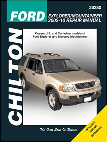 Ford explorer mercury mountaineer 2002 2010 chiltons total ford explorer mercury mountaineer 2002 2010 chiltons total car care repair manual 1st edition fandeluxe Image collections