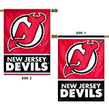 Wincraft NHL New Jersey Devils 2 Sided Vertical Flag, 28 x 40