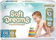 Soft Dreams Pañales Para Bebé Etapa 6 Talla Xxg 52 Piezas