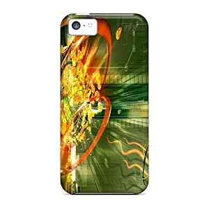 Iphone High Quality Tpu Case/ Travesto IUfoD10244Lfsht Case Cover For Iphone 5c
