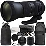 Tamron SP 150-600mm f/5-6.3 Di VC USD G2 for Nikon F 11PC Accessory Bundle - Includes 4PC Warming Filter Kit + MORE - International Version (No Warranty)