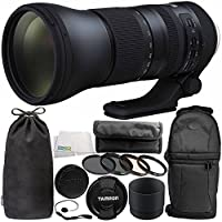 Tamron SP 150-600mm f/5-6.3 Di VC USD G2 for Nikon F 11PC Accessory Bundle - Includes 4PC Warming Filter Kit + Variable Neutral Density Filter (ND2-ND400) + Backpack + MORE