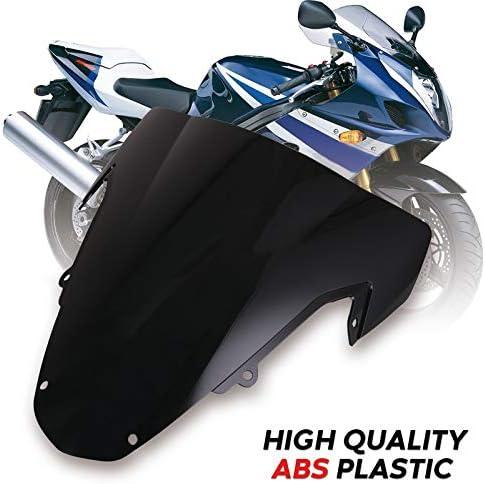 QOHFLD for Suzuki GSXR1000 K3 K4 2003 2004 GSXR 1000,Windscreens /& Wind Deflectors ABS Plastic Windshield Motorcycle Wind Deflector Spoiler Windscreen