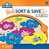 Elmers Sort and Save Stackable 6 Tray Puzzle Sorter