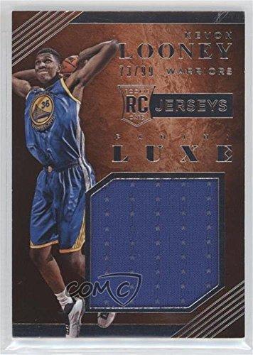 Kevon Looney #73/99 (Basketball Card) 2015-16 Panini Luxe - Rookie Jerseys #8