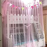 SIOFSVDFDFASDD Hammocks and cribs mosquito net,Keeps away insects & flies premium mosquito net canopy for bed princess bed canopy large screen netting bed canopy-B Full-size