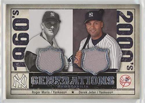 Derek Jeter; Roger Maris (Baseball Card) 2008 SP Legendary Cuts - Generations Dual Memorabilia #GEN-MJ ()
