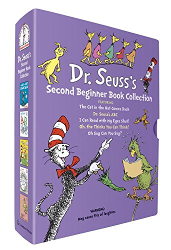 Dr Seuss books - 2nd beg book collection
