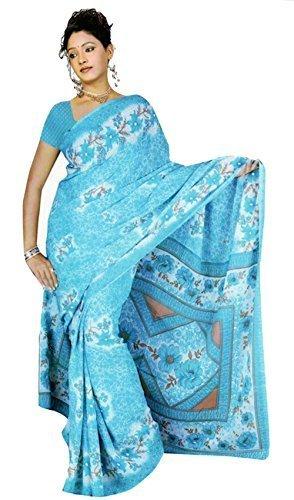 Bollywood Sari Kleid Chiffon Fo332 Trendofindia