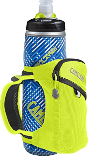 CamelBak Quick Grip Chill Handheld Water Bottle, Lime Punch/Black, One Size