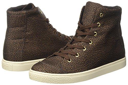 Collo Sneakers Donna Borbonese Alta Sneaker A tundra Verde Alto 7vqI4d