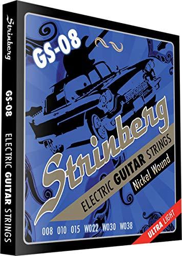 Encordoamento Strinberg para Guitarra GS08 Ultra Light