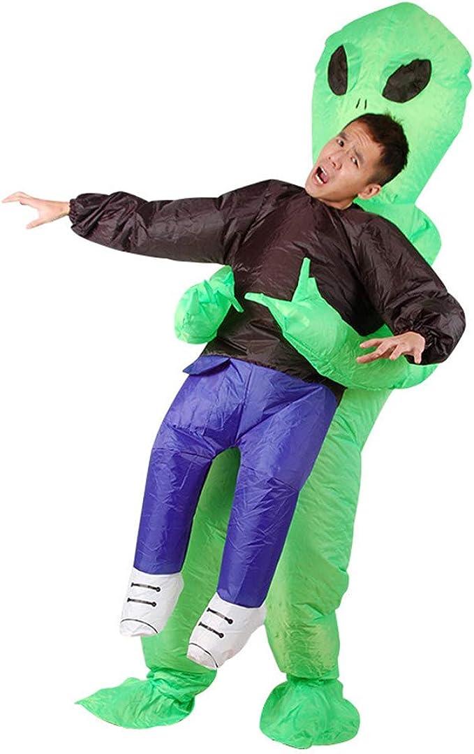 Amazon.com: WeiweiSmile - Disfraz hinchable de Alien Clothes ...