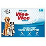 Wee Wee Dog Pee Pads Extra Large | 75 Count | Puppy Training Pee Pads for Dogs | XL Size
