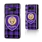 Keyscaper Orlando City Soccer Club Plaid Galaxy S8+ Clear Slim Case MLS
