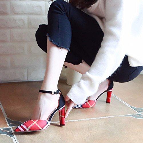 Chaussures Chaussures Printemps Femmes Talons Chaussures Zhudj Et Des Gules Creux fSpwqq