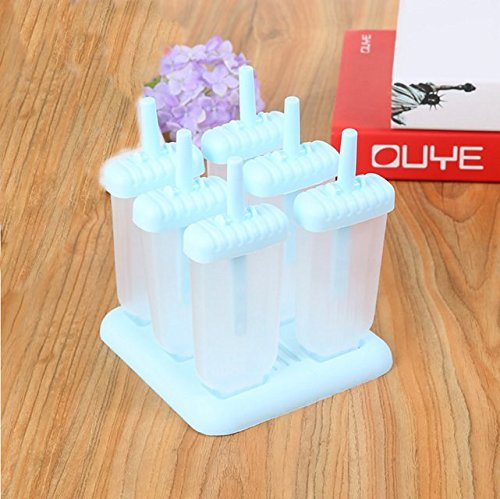Creative and inventive DIY ice cube ice cream ice cream ice cream bar moulds(blue) FamilyMall
