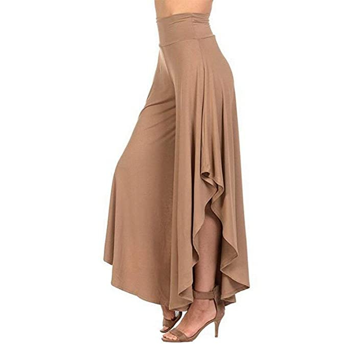 Pantalon Mujer Pantalones Anchos Pantalones Verano Elegantes Moda ...